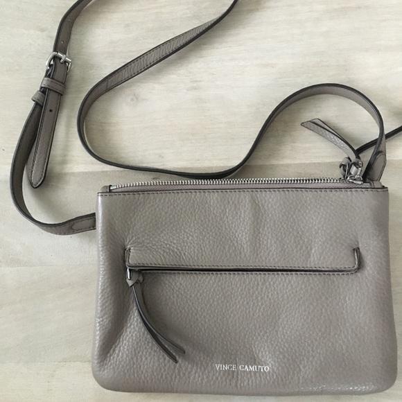 8a5f05b60 Vince Camuto Gally Leather Crossbody Bag - Gray. M_5b97e3a545c8b326ce3bd20d